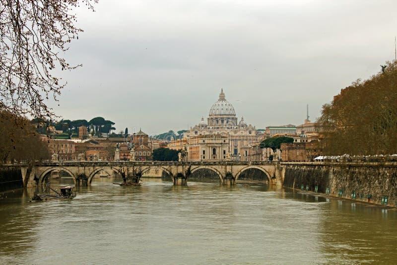 Roma Trastevere fotografia stock