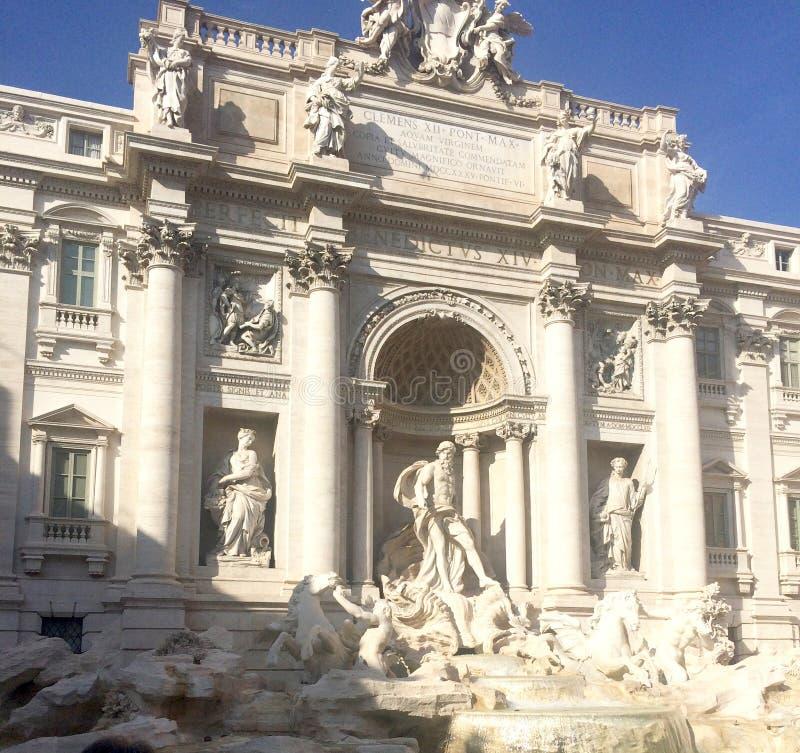 Roma Trevi Fountain Beautiful imágenes de archivo libres de regalías