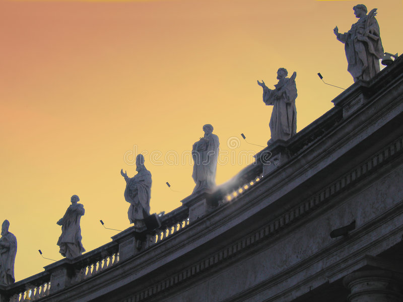 Roma - Vatican imagens de stock royalty free