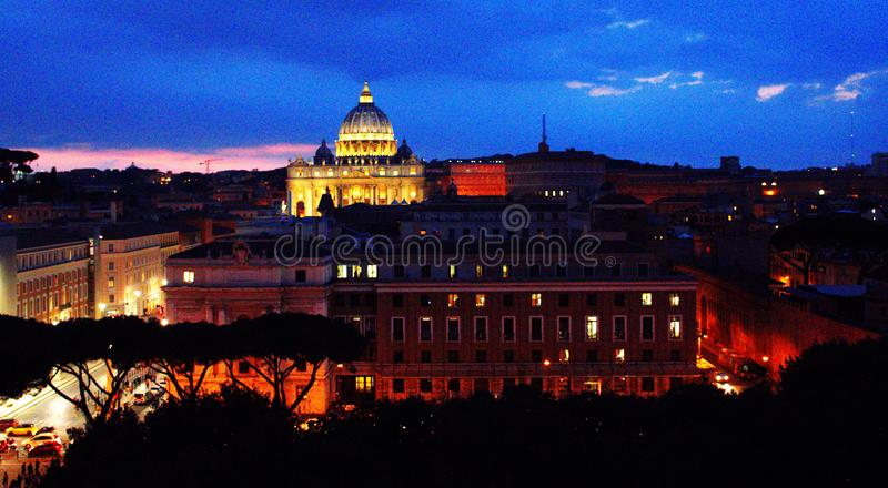 Roma, Vatican, Italy. St. Peter's Basilica. Peters stock photography