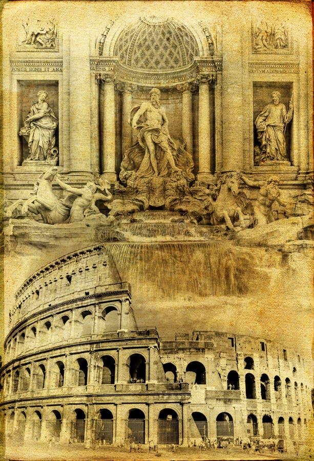 Roma velha foto de stock royalty free