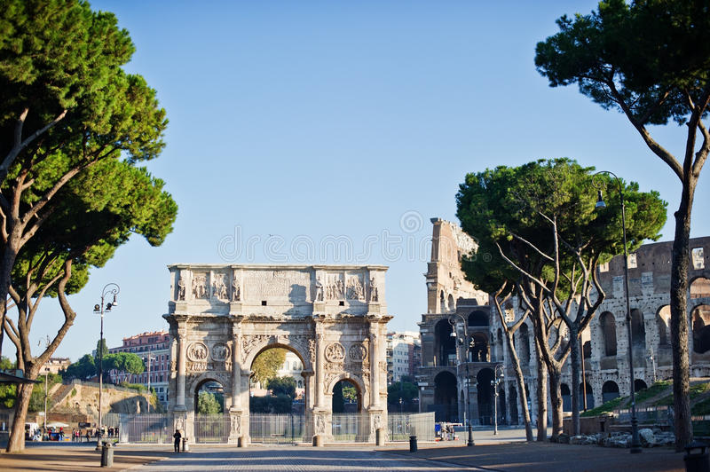In Roma royalty free stock images