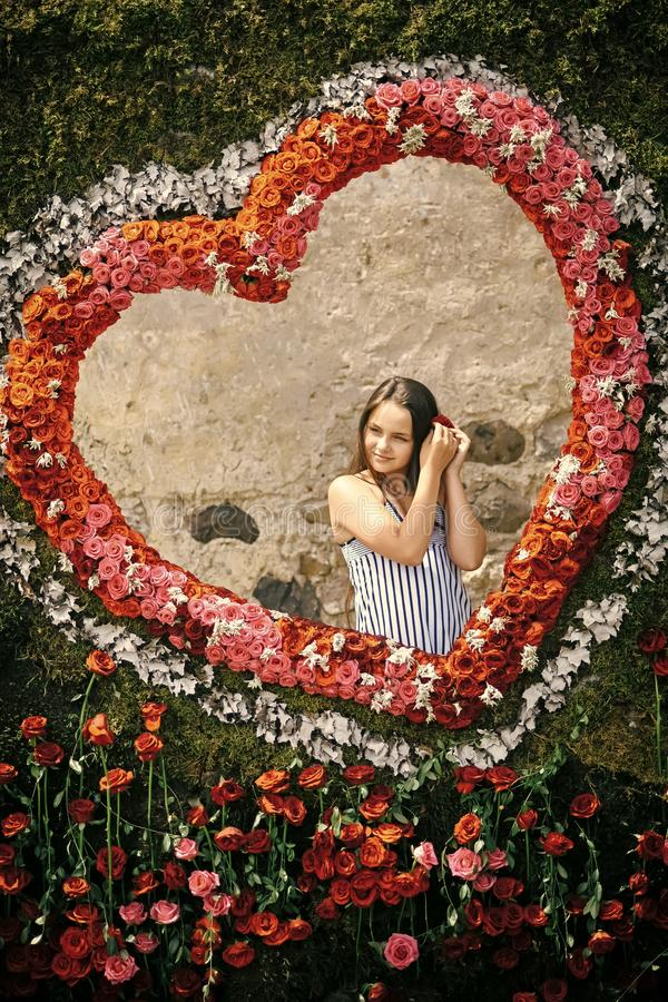 Romaans liefdesymbool, stock foto