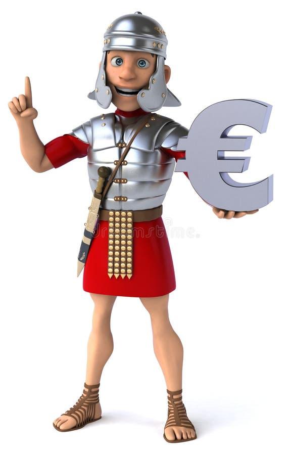 Download Roman żołnierz ilustracji. Ilustracja złożonej z europejczycy - 53787977
