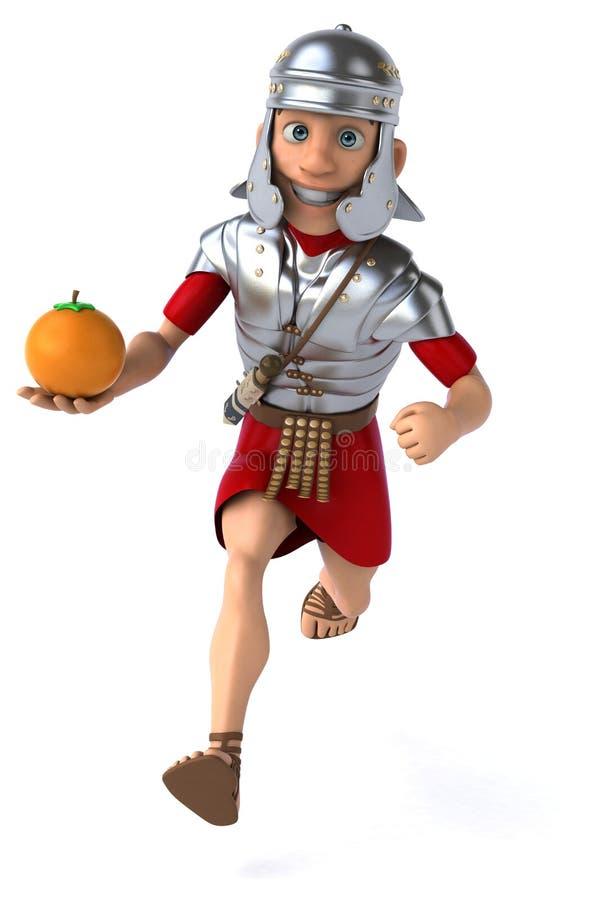 Download Roman żołnierz ilustracji. Ilustracja złożonej z rzymski - 53787981