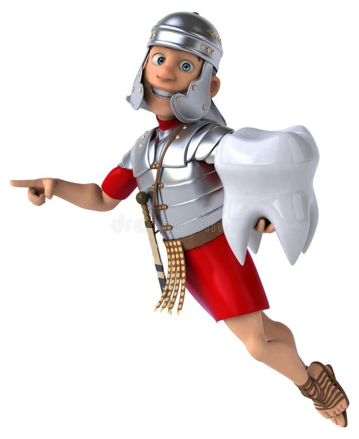 Download Roman żołnierz ilustracji. Ilustracja złożonej z arne - 53787997