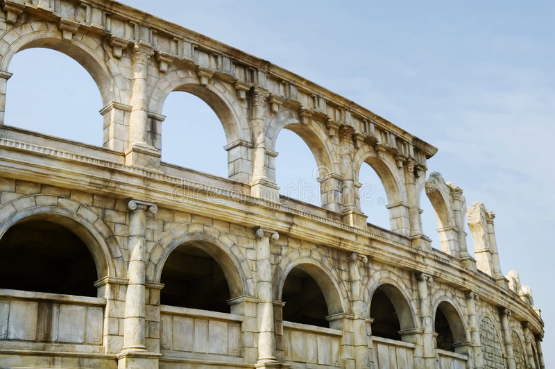 roman amfiteatrze fotografia royalty free