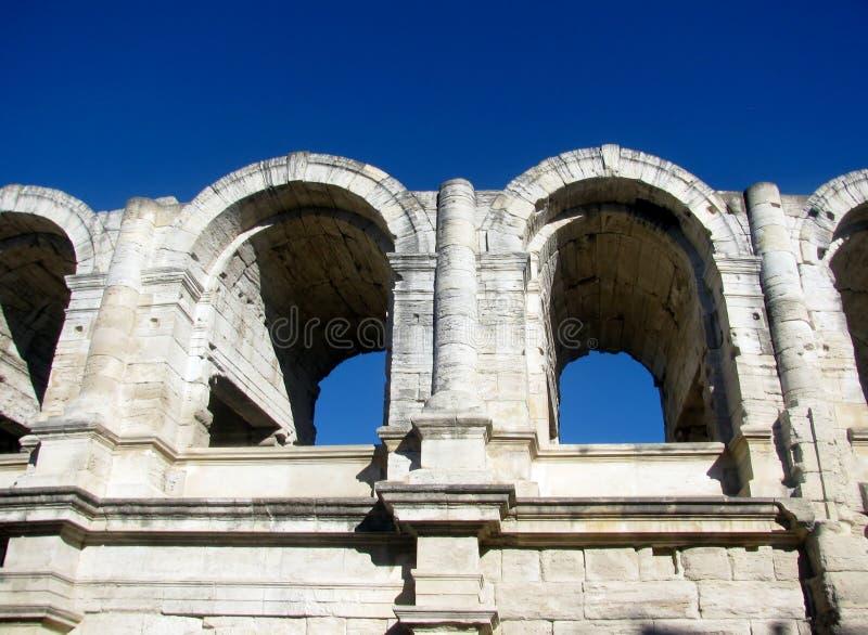 Roman Amphitheater, Arles, Francia fotografie stock libere da diritti