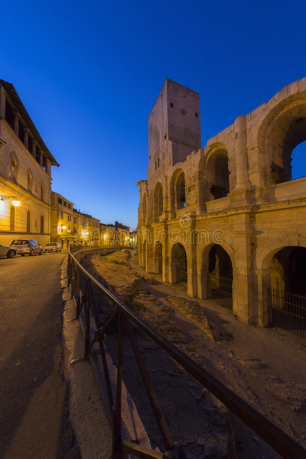 Download Roman Amphitheater - Arles - South Of France Stock Image - Image: 26556661