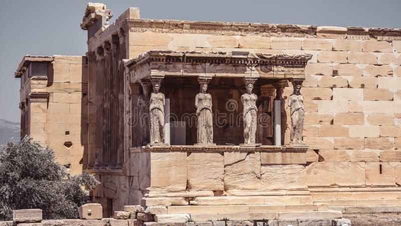 Roman Amphitheater bij de Akropolis royalty-vrije stock afbeelding
