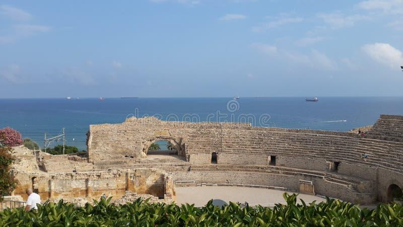Roman Amphitheatre fotografie stock libere da diritti