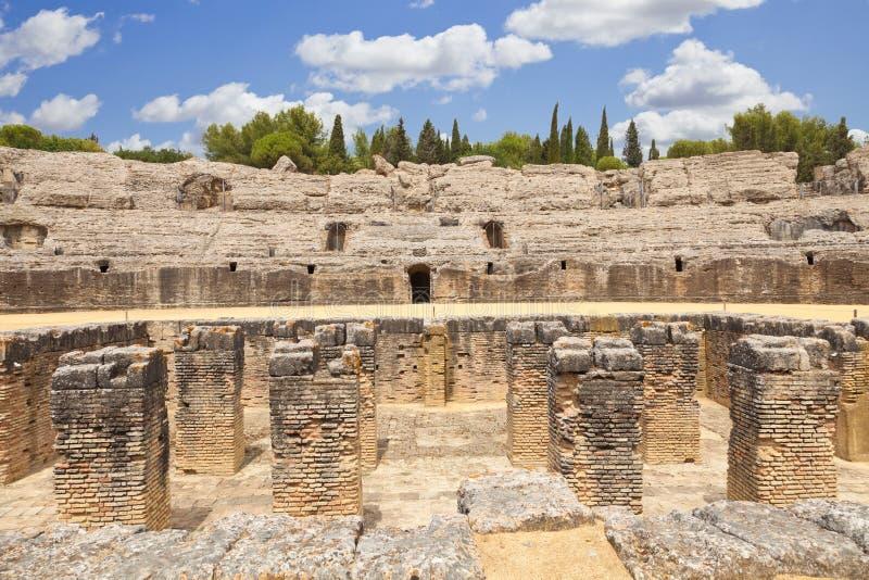Download Roman Amphitheatre Of Italica Stock Photo - Image: 23560860