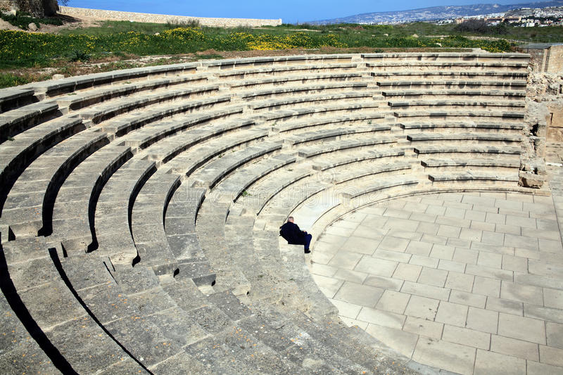 Download Roman Amphitheatre, Paphos, Cyprus Royalty Free Stock Photos - Image: 33460598