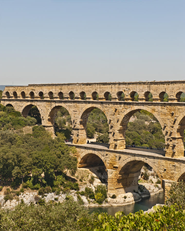 Download The Roman Aquaduct - Pont Du Gard Stock Photo - Image: 24521040