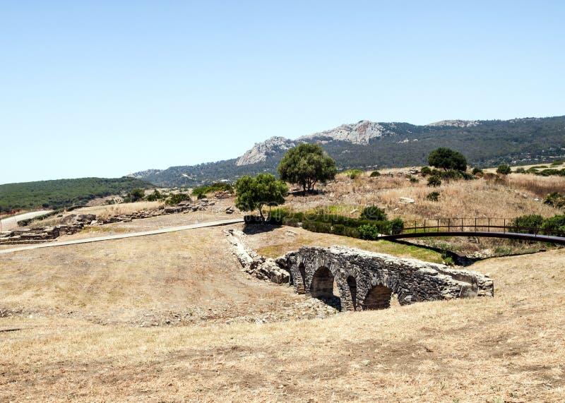 Download Roman aqueduct stock image. Image of baelo, claudia, daytime - 25344095