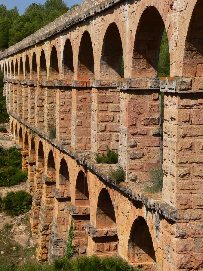 Roman aqueduct, Tarragona ( Spain )