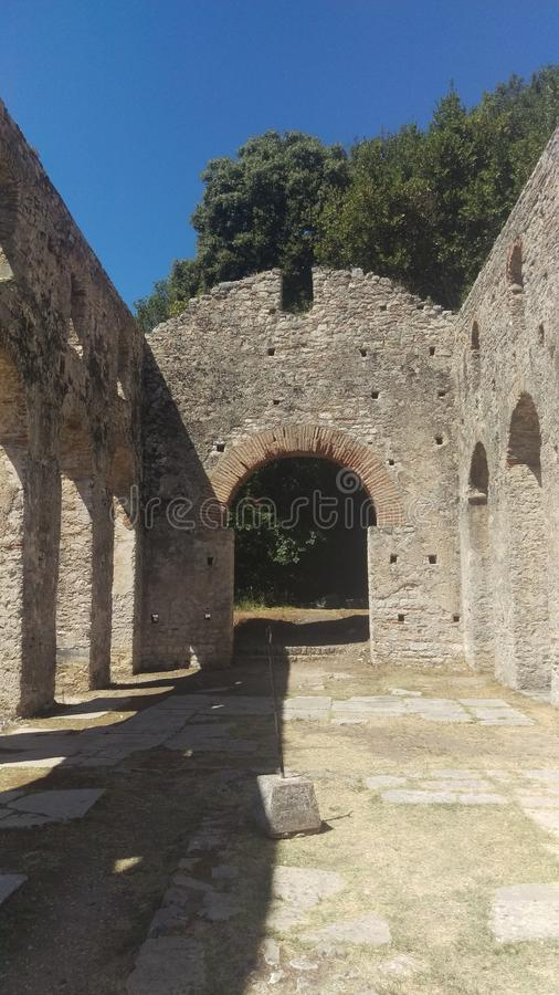 Roman Architecture Arches royalty free stock image