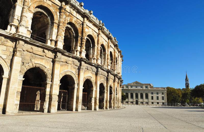 Roman Arena Royalty Free Stock Images