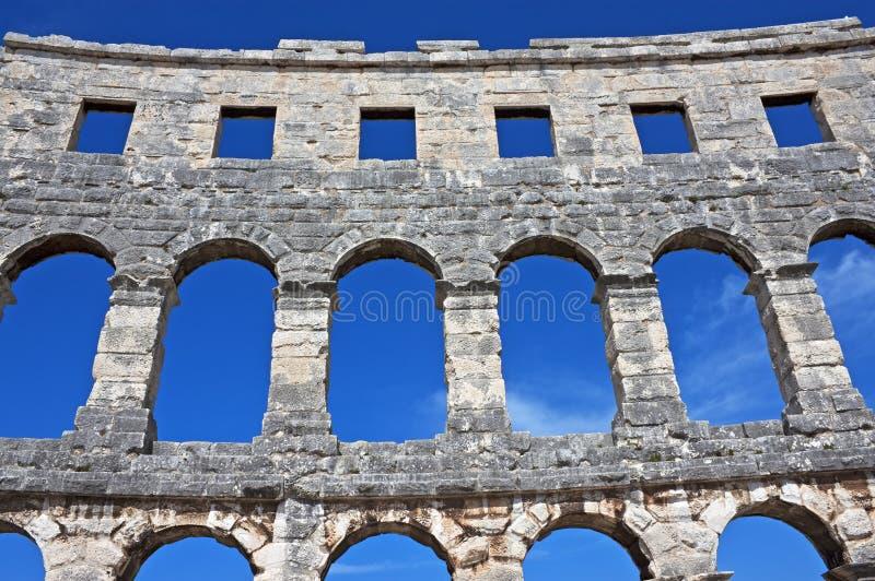 Download Roman arena, Pula, Croatia stock photo. Image of summer - 29056234