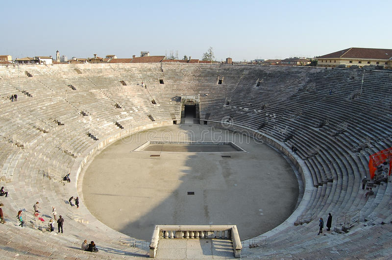 Roman Arena - Verona - l'Italia immagine stock libera da diritti