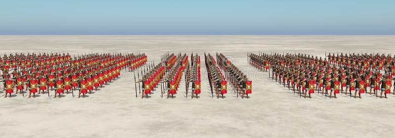 roman armii ilustracja wektor