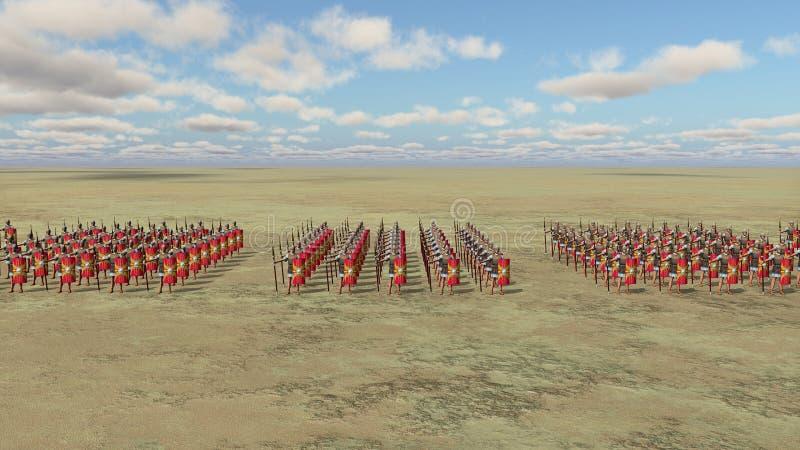 roman armii ilustracji