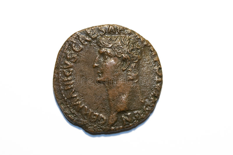 Roman As of Claudius royalty free stock images
