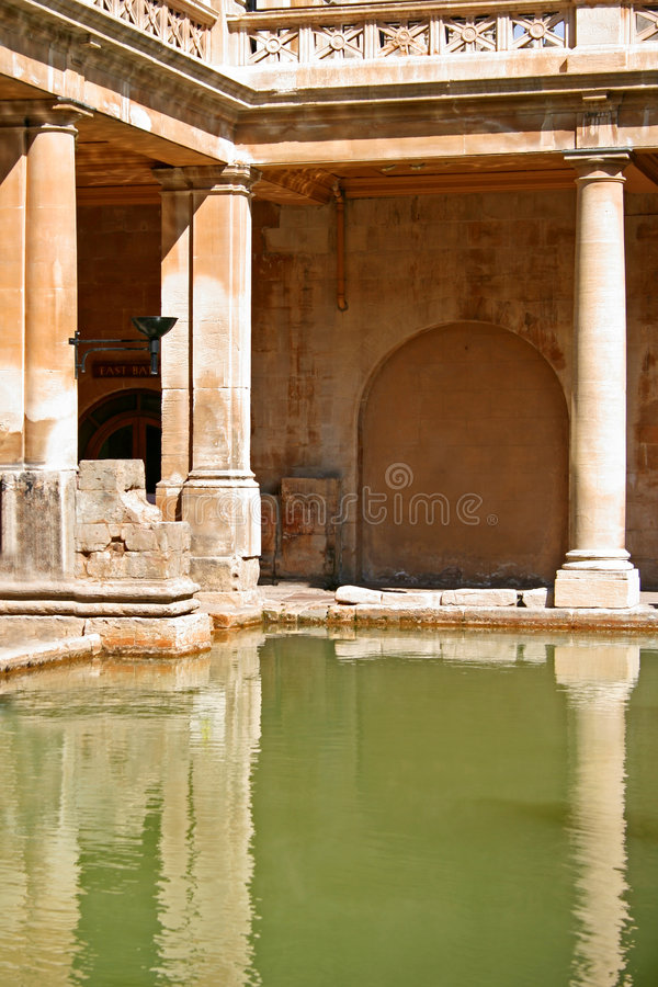 Roman Bath Royalty Free Stock Photo