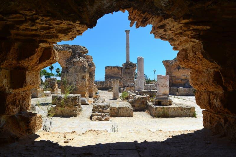 Roman Bath royalty free stock photos