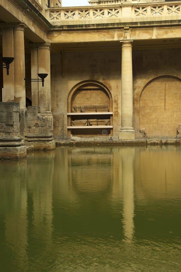 Roman Baths Royalty Free Stock Photos