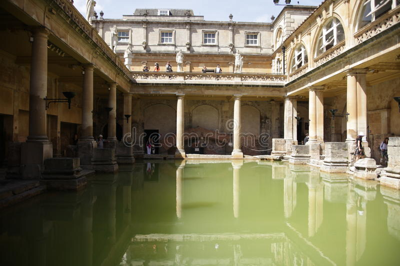 Roman Baths In Bath, England Editorial Photo