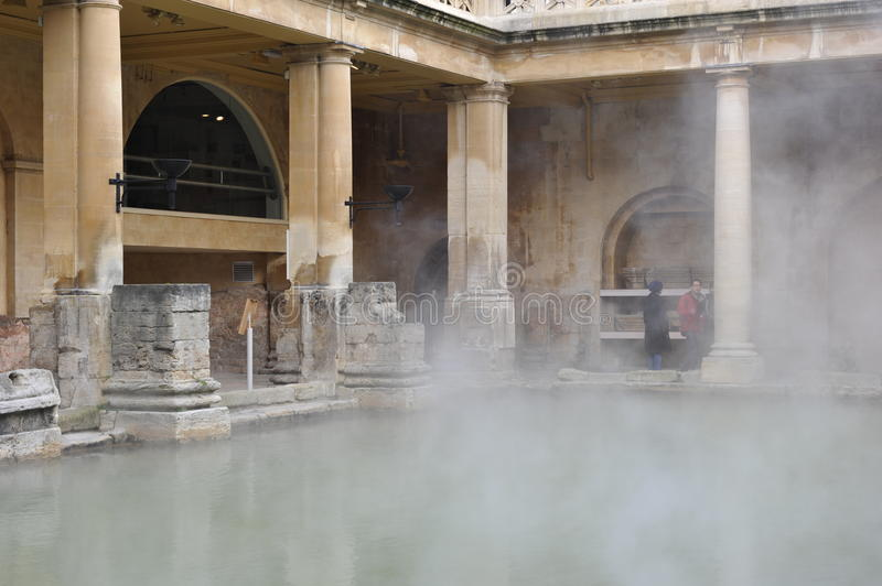 Download Roman Baths In Bath, England Editorial Stock Photo - Image of public, jdanne: 17541453