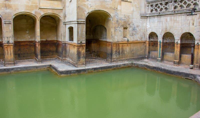 Roman Baths en el baño, Inglaterra imagen de archivo libre de regalías