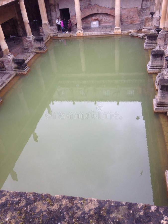 Roman Baths England royalty free stock images