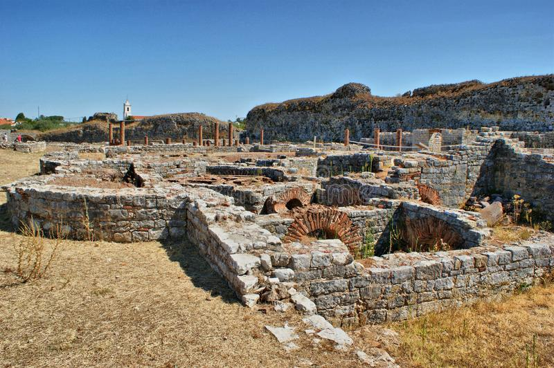 Download Roman Baths Ruins Of Conimbriga Stock Image - Image of classical, archaeological: 26652149