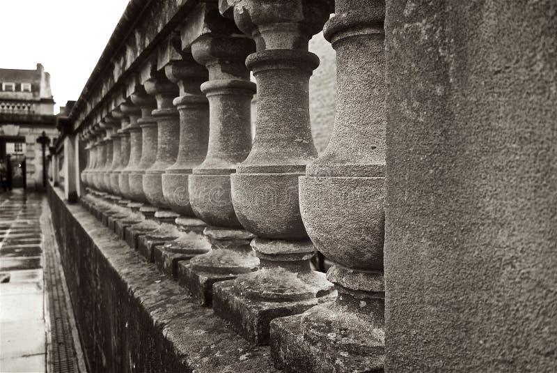 Roman Baths Terrace United Kingdom imagem de stock royalty free