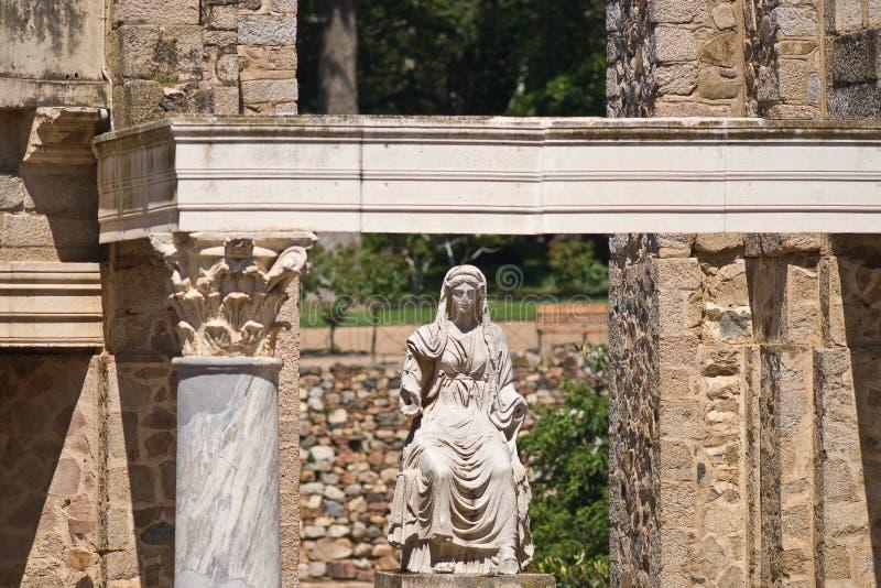 Roman beeldhouwwerk stock foto