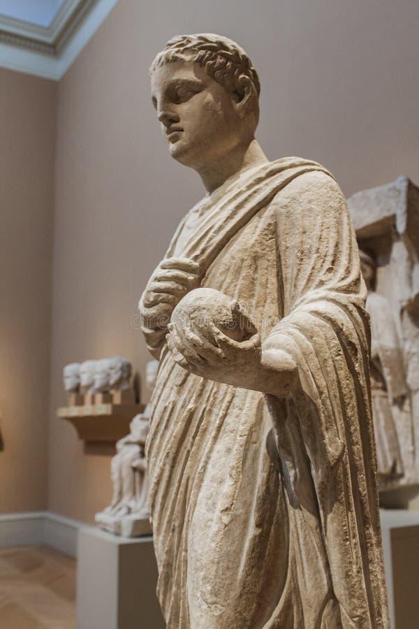 Roman beeldhouwwerk royalty-vrije stock foto