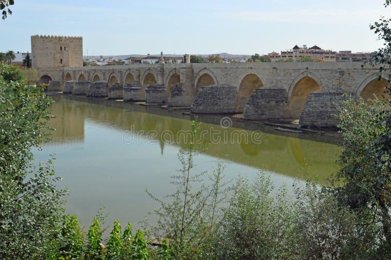 The Roman Bridge of Cordoba, Andalucia, Spain royalty free stock photos