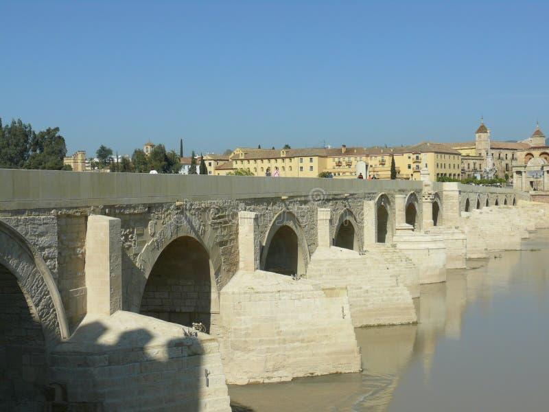 Roman Bridge in Cordoba, Spain royalty free stock image