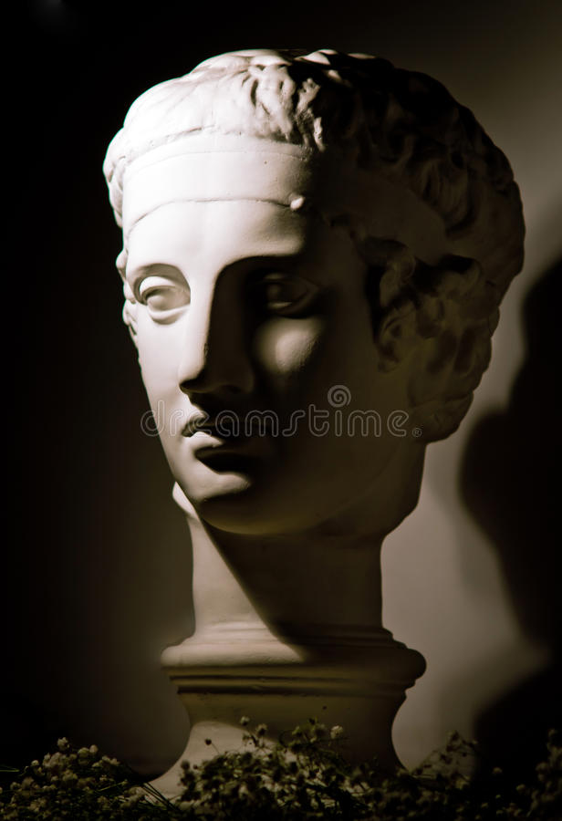 Download Roman bust copy stock photo. Image of gyps, majestic - 25454486