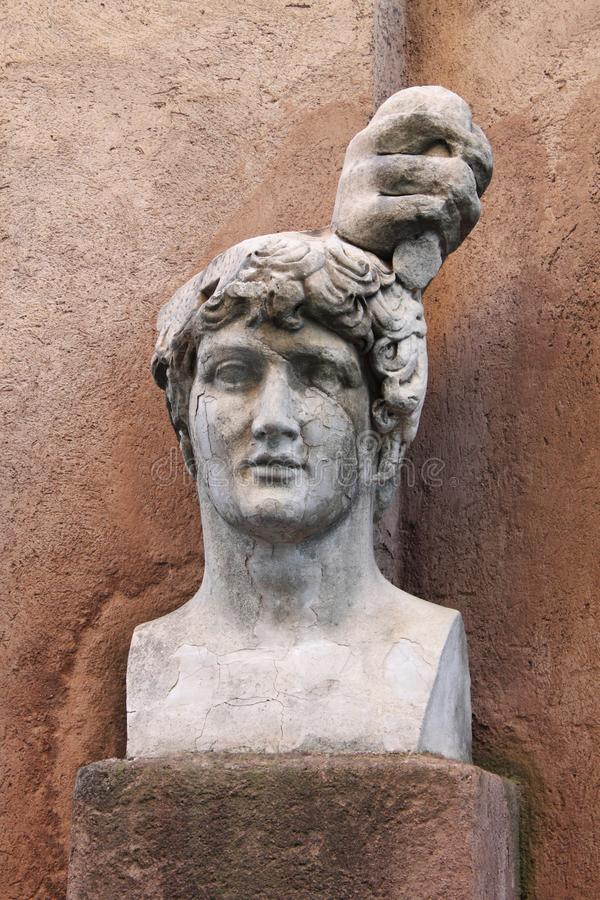 Roman bust royalty free stock images
