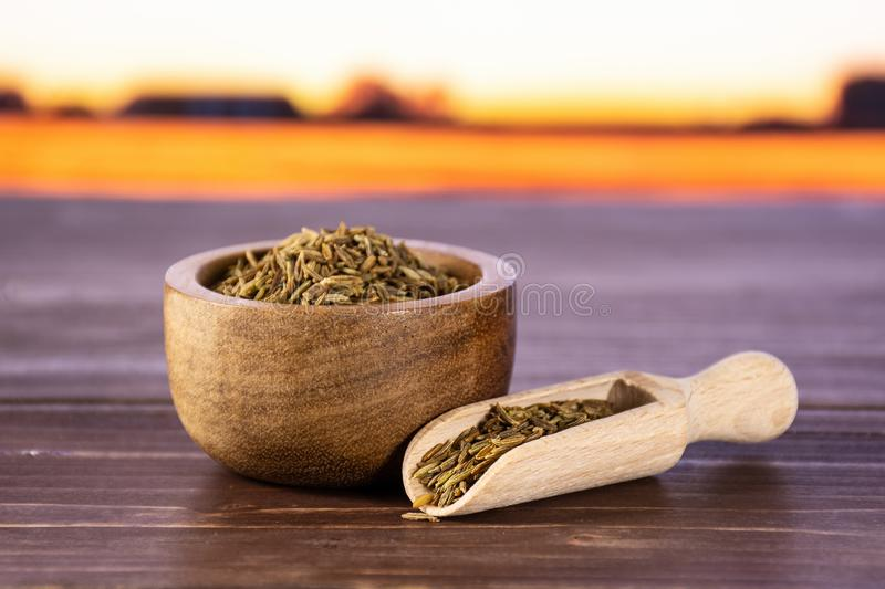 Roman Caraway Cumin Isolated On White Stock Photo - Image of