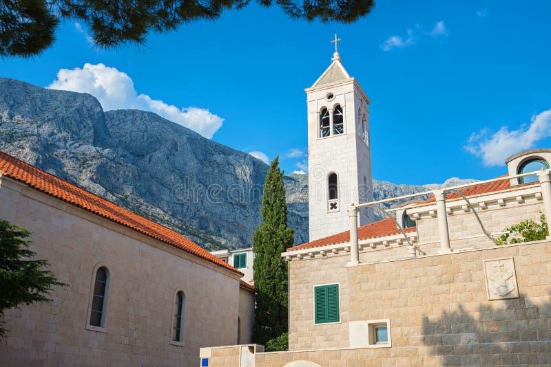 Roman-catholic εκκλησία στην Κροατία στοκ φωτογραφία με δικαίωμα ελεύθερης χρήσης