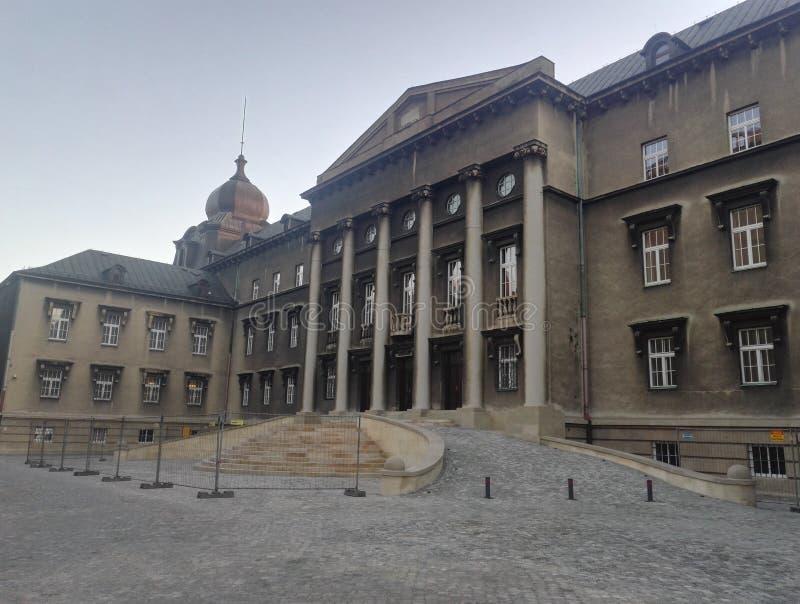 Roman Catholic Archdiocese van Katowice, Polen stock foto