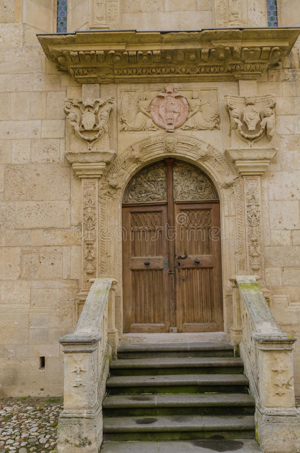 Roman Catholic Cathedral Alba Iulia stock afbeelding
