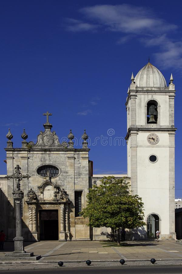 Roman Catholic cathedral in Aveiro, central Portugal royalty free stock images