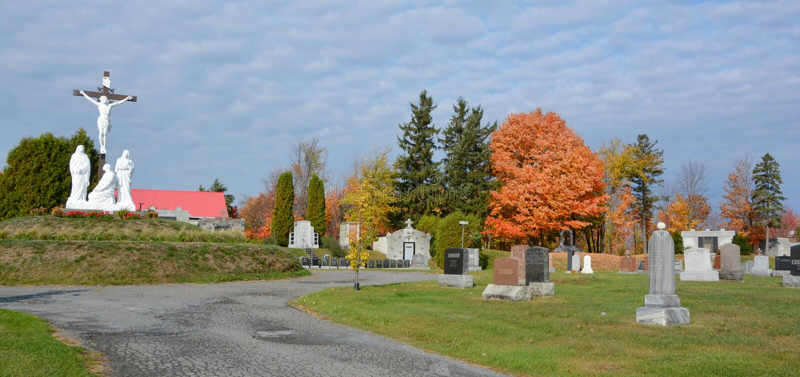 Roman Catholic Cemetery fotos de archivo libres de regalías