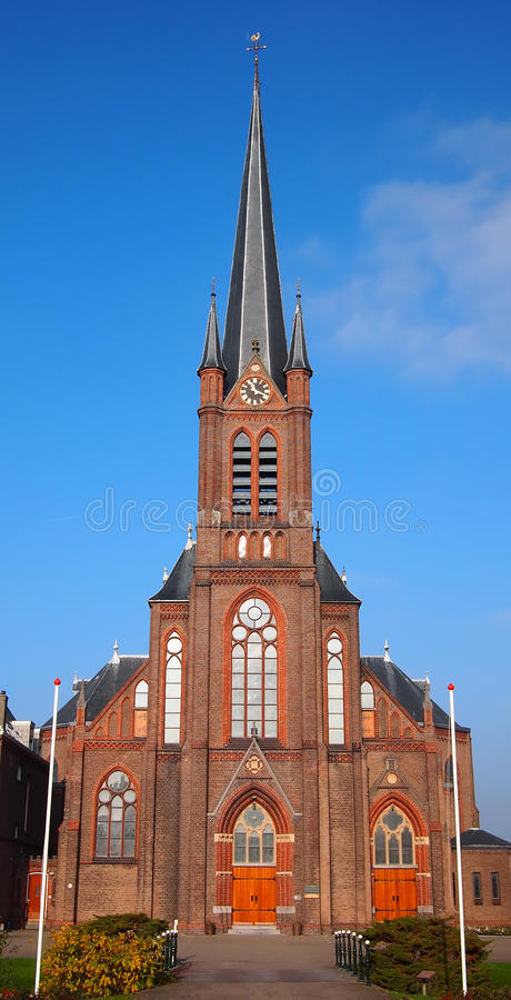 Download Roman Catholic Church Against A Blue Sky Stock Photo - Image: 22148762