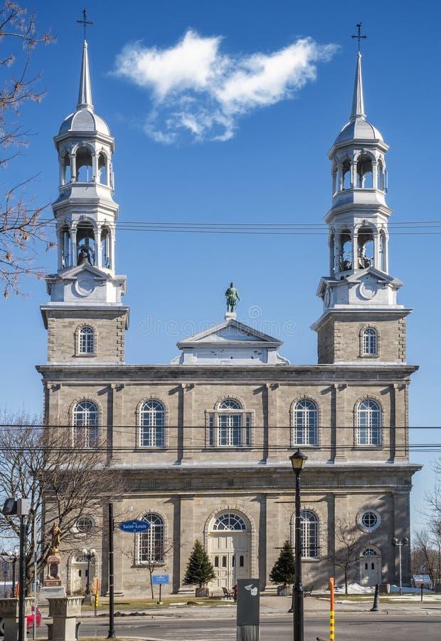 Roman Catholic Church dans le St-Eustache images stock